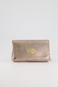 Glamour gold mini bag